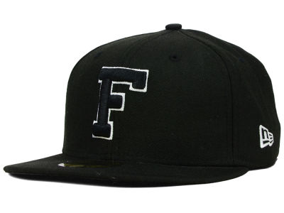Florida Gators NCAA Black on Black with White 59FIFTY Hats
