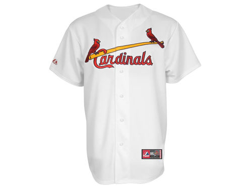 St. Louis Cardinals Profile MLB Men's Blank Replica CB 3XL-4XL Jersey
