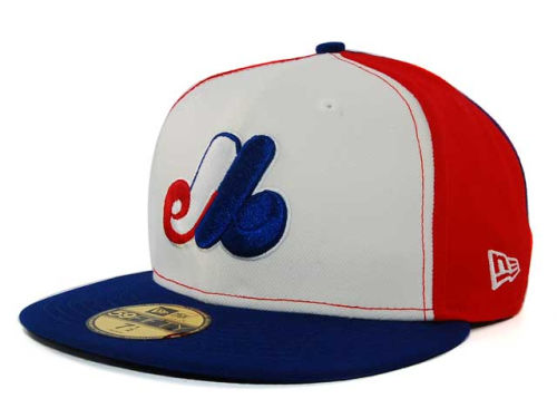 Montreal Expos New Era MLB Cooperstown 59FIFTY Hats