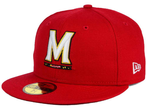 Maryland Terrapins New Era NCAA AC 59FIFTY Hats