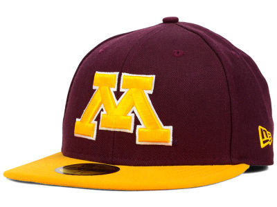Minnesota Golden Gophers NCAA 2 Tone 59FIFTY Hats