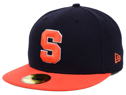 Syracuse Orange New Era NCAA 2 Tone 59FIFTY Hats