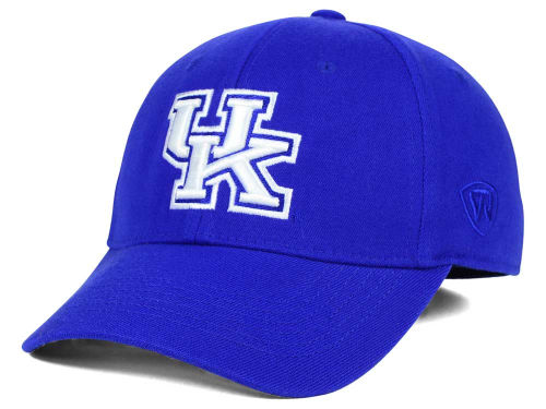 Kentucky Wildcats Top of the World NCAA Team Color PC Cap Hats
