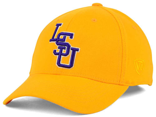 LSU Tigers Top of the World NCAA Team Color PC Cap Hats