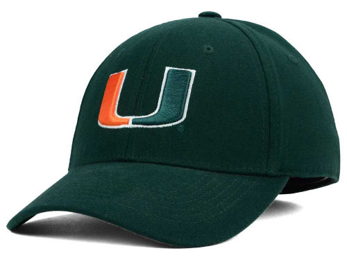 Miami Hurricanes Top of the World NCAA Team Color PC Cap Hats