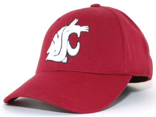 Washington State Cougars Top of the World NCAA PC Cap Hats