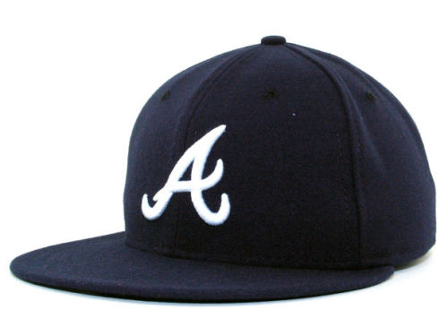 Atlanta Braves New Era MLB Authentic Collection 59FIFTY Hats