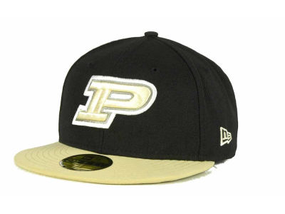 Purdue Boilermakers NCAA 2 Tone 59FIFTY Cap Hats