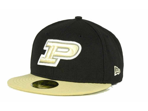 Purdue Boilermakers New Era NCAA 2 Tone 59FIFTY Cap Hats