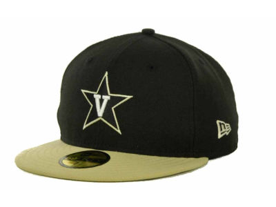 Vanderbilt Commodores NCAA 2 Tone 59FIFTY Cap Hats