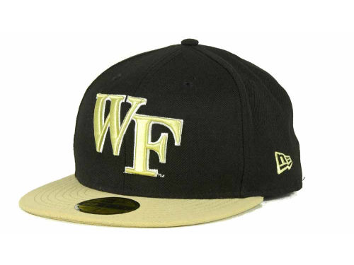 Wake Forest Demon Deacons New Era NCAA 2 Tone 59FIFTY Cap Hats