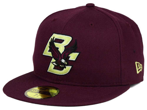 Boston College Eagles New Era NCAA AC 59FIFTY Cap Hats