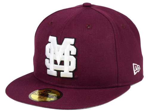 Mississippi State Bulldogs New Era NCAA AC 59FIFTY Cap Hats