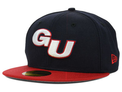 Gonzaga Bulldogs NCAA 2 Tone 59FIFTY Cap Hats