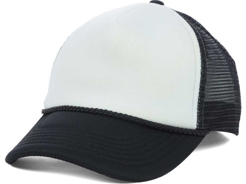 Black/White Foam Fan Trucker  Hats