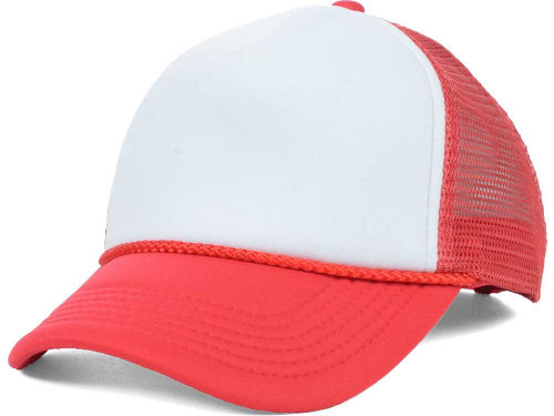 Red/White Foam Fan Trucker  Hats