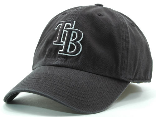 Tampa Bay Rays '47 Brand MLB Black White Black Franchise Hats