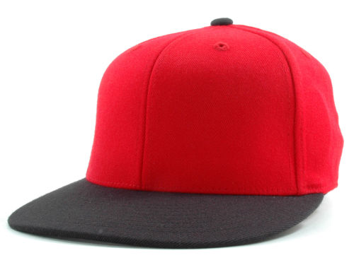 Red/Black 210 Flexfit Home Run  Hats