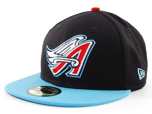 Los Angeles Angels New Era MLB Cooperstown 59FIFTY Cap Hats