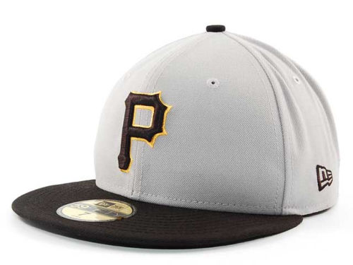 Pittsburgh Pirates New Era MLB Cooperstown 59FIFTY Cap Hats