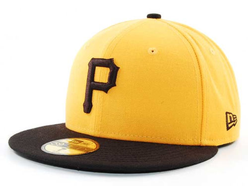Pittsburgh Pirates New Era MLB Cooperstown 59FIFTY Hats