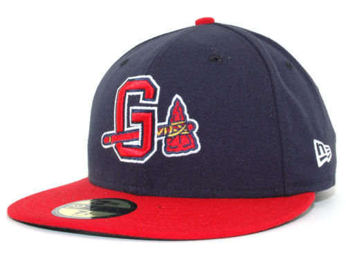 Gwinnett Braves New Era MiLB 59FIFTY Hats