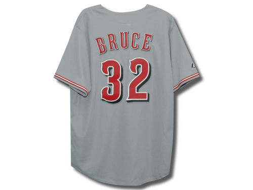 Cincinnati Reds Jay Bruce Majestic MLB Player Replica Jersey