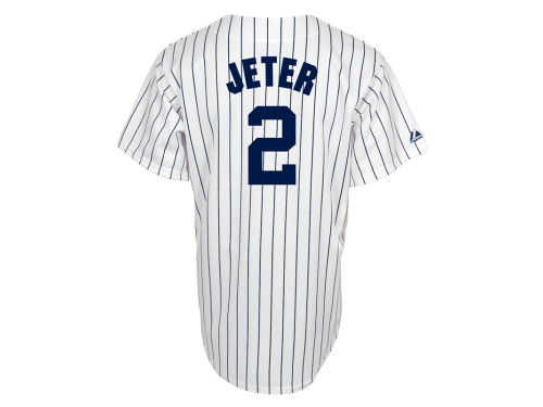 New York Yankees Derek Jeter Majestic MLB Player Replica Jersey
