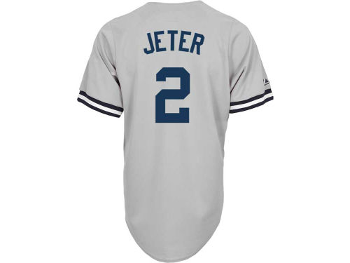 New York Yankees Derek Jeter Majestic MLB Men's Player Replica Jersey