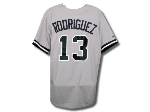 New York Yankees Alex Rodriguez Majestic MLB Player Replica Jersey