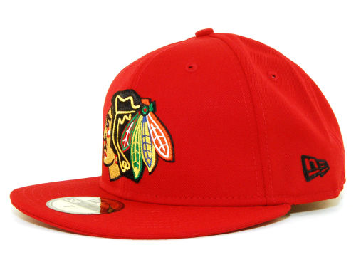 Chicago Blackhawks New Era NHL TM 59FIFTY Hats
