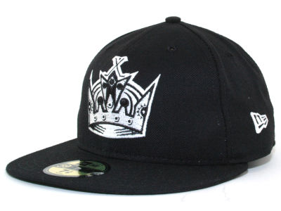 Los Angeles Kings NHL Black and White 59FIFTY Hats