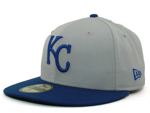 Kansas City Royals New Era MLB Cooperstown 59FIFTY Hats