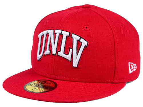 UNLV Runnin Rebels New Era NCAA AC 59FIFTY Cap Hats