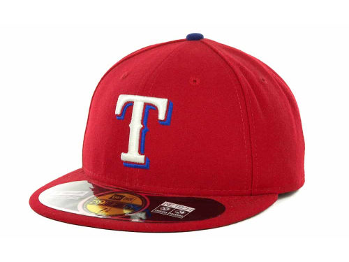 Texas Rangers New Era MLB Authentic Collection 59FIFTY Hats