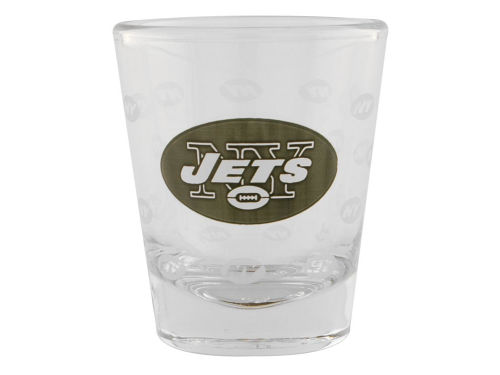 New York Jets Satin Etch Shot Glass