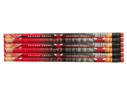 Chicago Bulls Wincraft 6pk Pencils