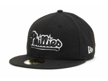 Philadelphia Phillies New Era MLB Black and White Fashion images, details and specs