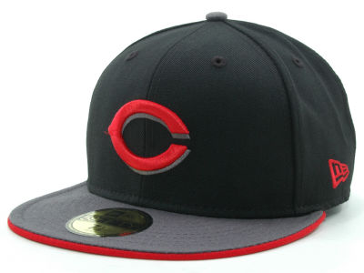 Cincinnati Reds MLB Graphite 59FIFTY Hats