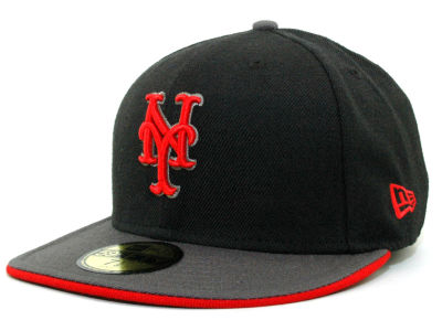 New York Mets MLB Graphite 59FIFTY Hats
