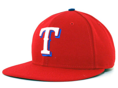 Texas Rangers MLB Authentic Collection 59FIFTY Hats