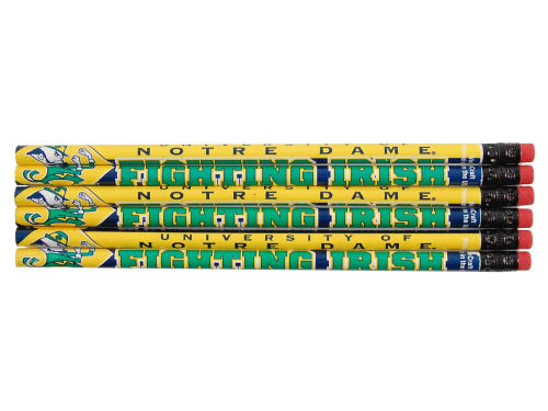 Notre Dame Fighting Irish Wincraft 6 Pack Pencils