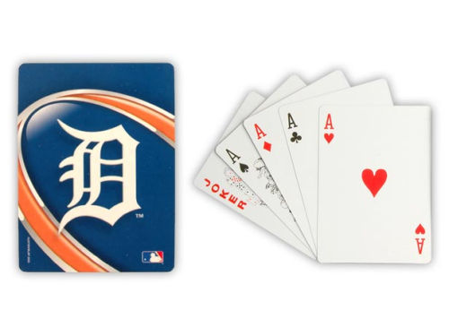 Detroit Tigers Hunter Manufacturing Playing Cards