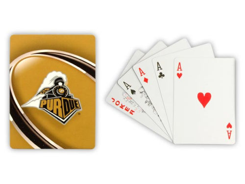 Purdue Boilermakers Hunter Manufacturing Playing Cards