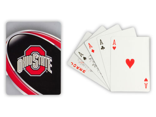 Ohio State Buckeyes Hunter Manufacturing Playing Cards