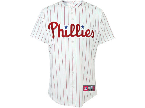 Philadelphia Phillies Majestic MLB Blank Replica Jersey