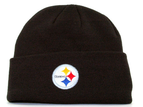 Pittsburgh Steelers Reebok NFL Basic Knit  Hats