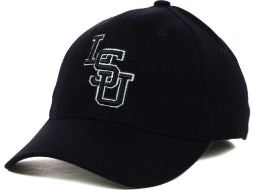 LSU Tigers Top of the World NCAA Black White Hats