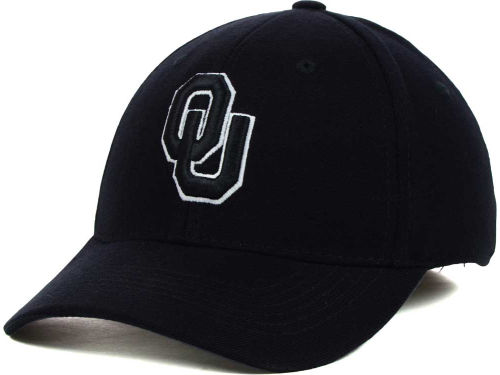 Oklahoma Sooners Top of the World NCAA Black White Hats