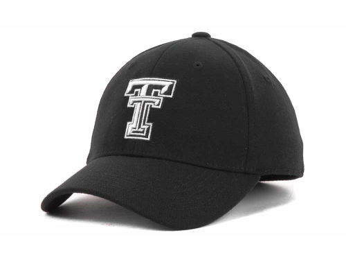 Texas Tech Red Raiders Top of the World NCAA Black White Hats